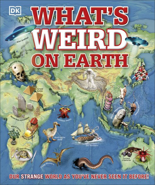 Hardback cover of What's Weird on Earth