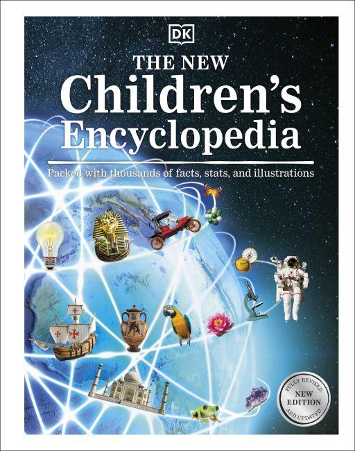 Bìa cứng của bách khoa toàn thư cho trẻ em mới