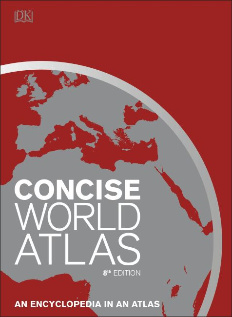 Hardback cover of Concise World Atlas