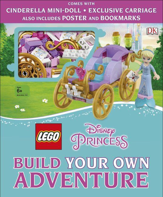 Hardback cover of LEGO Disney Princess Build Your Own Adventure