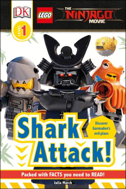 eBook cover of The LEGO® NINJAGO® Movie™ Shark Attack!