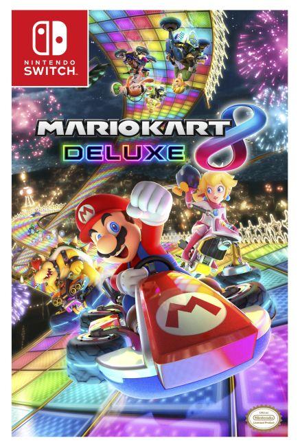 eBook cover of Mario Kart 8 Deluxe