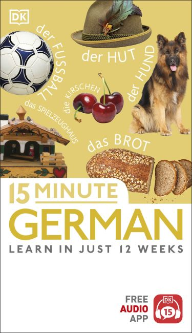 Paperback cover of 15 Minute German
