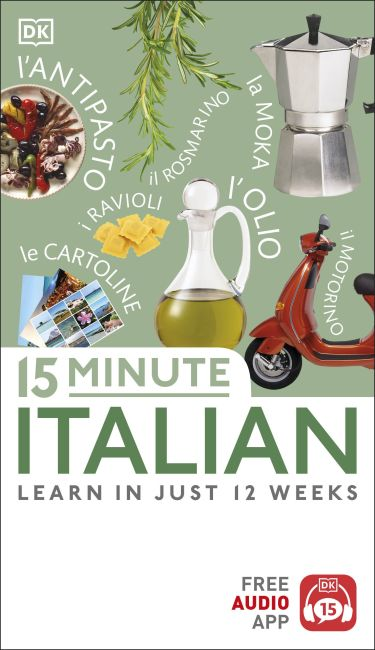Paperback cover of 15 Minute Italian