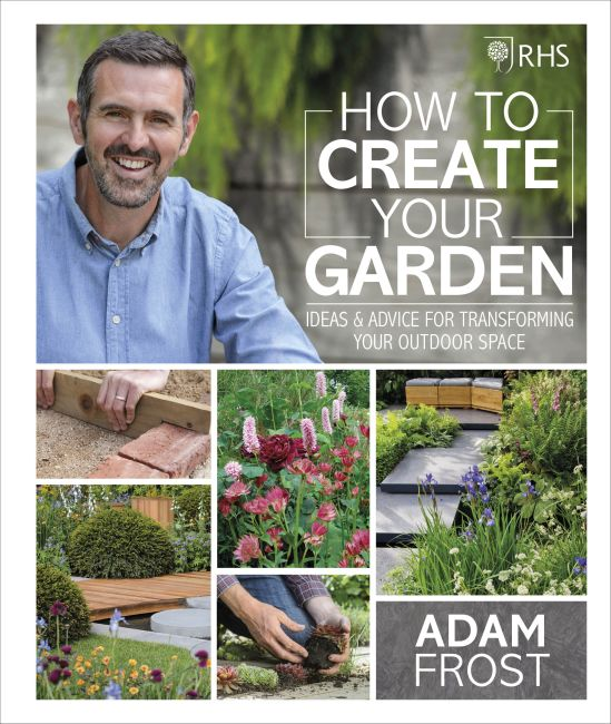 Hardback cover of RHS How to Create your Garden