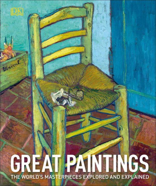 Hardback cover of Great Paintings