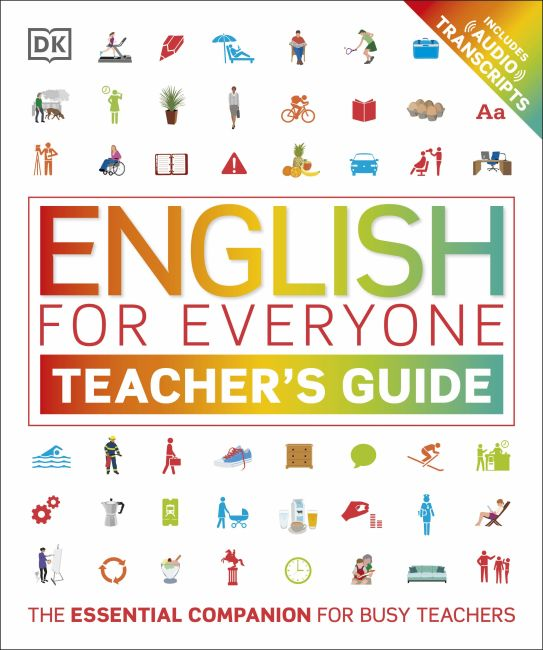 Hardback cover of English for Everyone Teacher's Guide