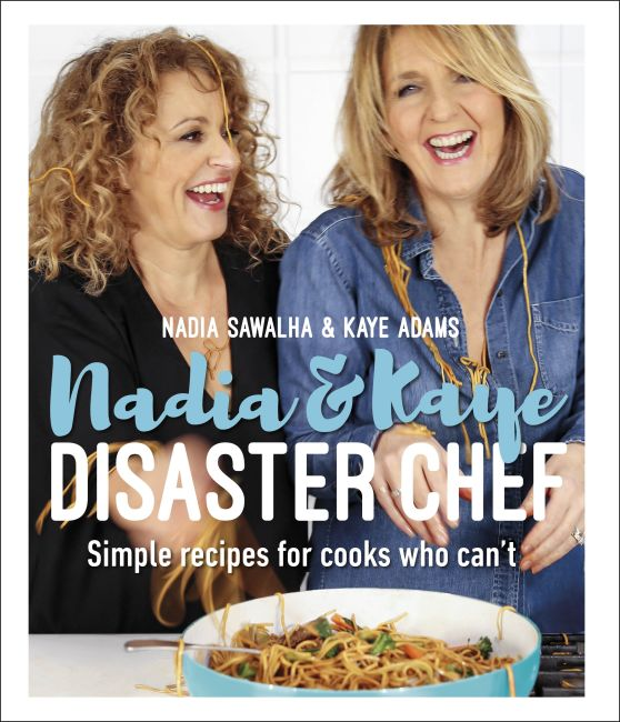 Hardback cover of Nadia and Kaye Disaster Chef
