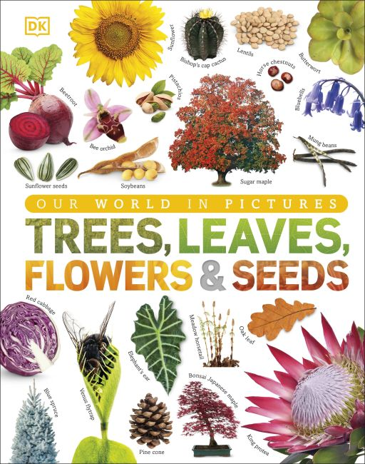 Hardback cover of Trees, Leaves, Flowers & Seeds