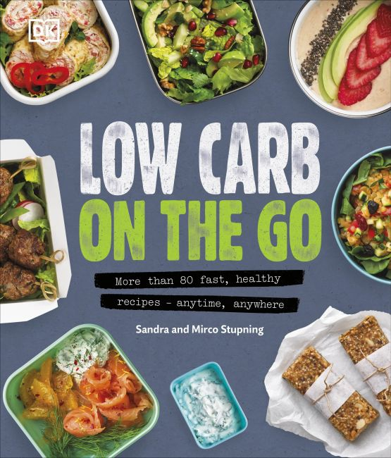 Hardback cover of Low Carb On The Go