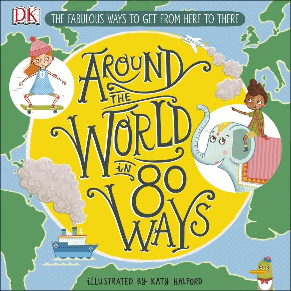 Hardback cover of Around The World in 80 Ways