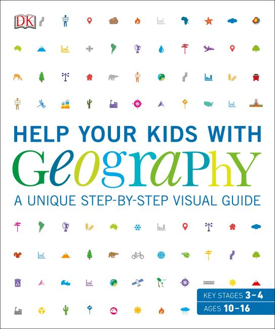 Flexibound cover of Help Your Kids with Geography