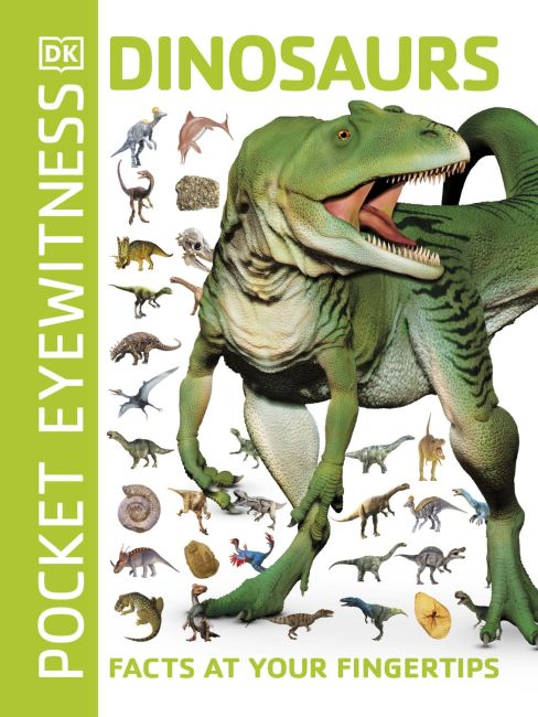 Paperback cover of Pocket Eyewitness Dinosaurs