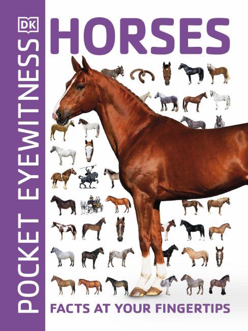 Paperback cover of Pocket Eyewitness Horses