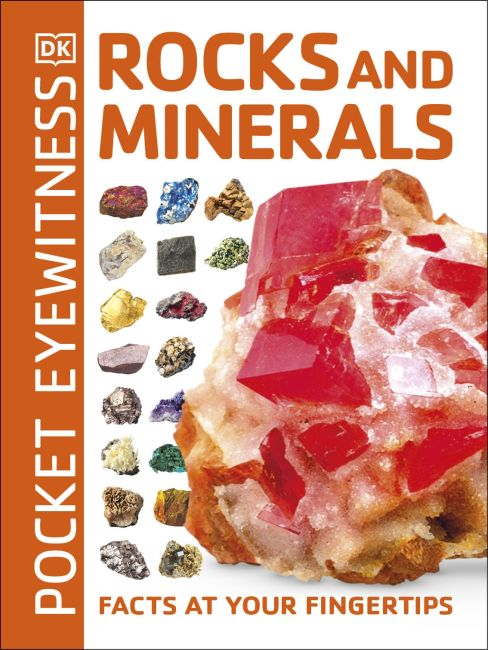 Paperback cover of Pocket Eyewitness Rocks and Minerals
