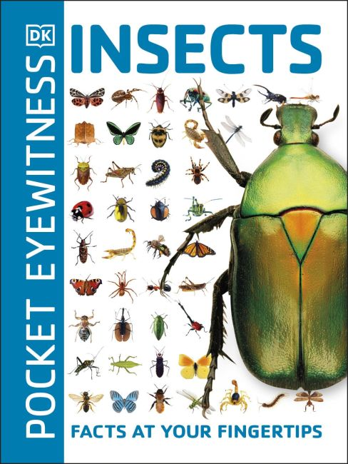 Paperback cover of Pocket Eyewitness Insects