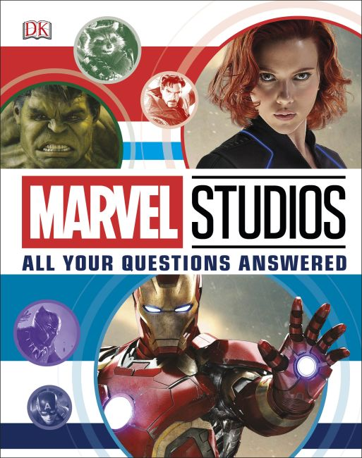 Hardback cover of Marvel Studios All Your Questions Answered