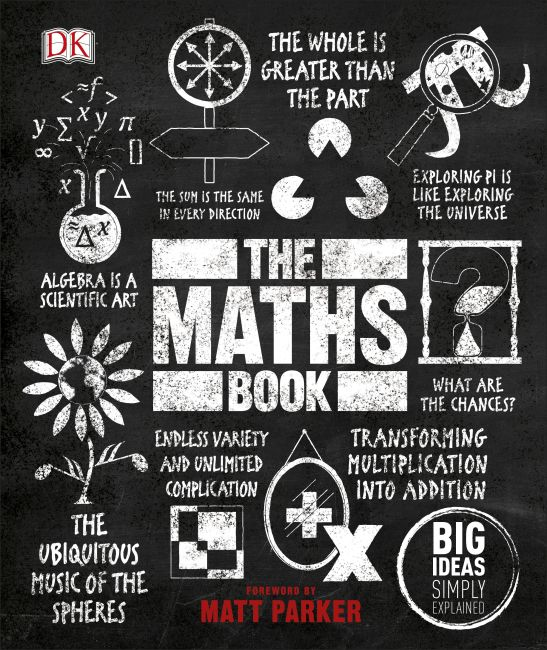 Hardback cover of The Maths Book