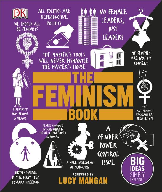 Hardback cover of The Feminism Book