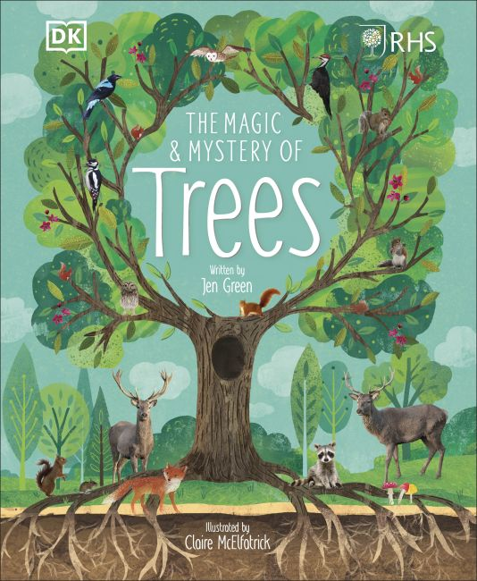 Hardback cover of RHS The Magic and Mystery of Trees