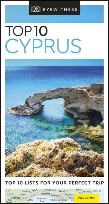 Paperback cover of DK Eyewitness Top 10 Cyprus
