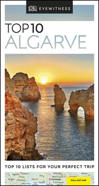 Paperback cover of DK Eyewitness Top 10 Algarve
