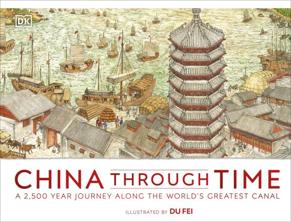 Hardback cover of China Through Time