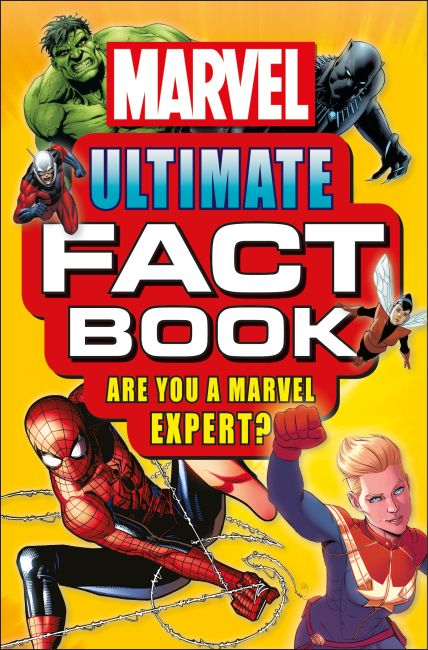 Paperback cover of Marvel Ultimate Fact Book