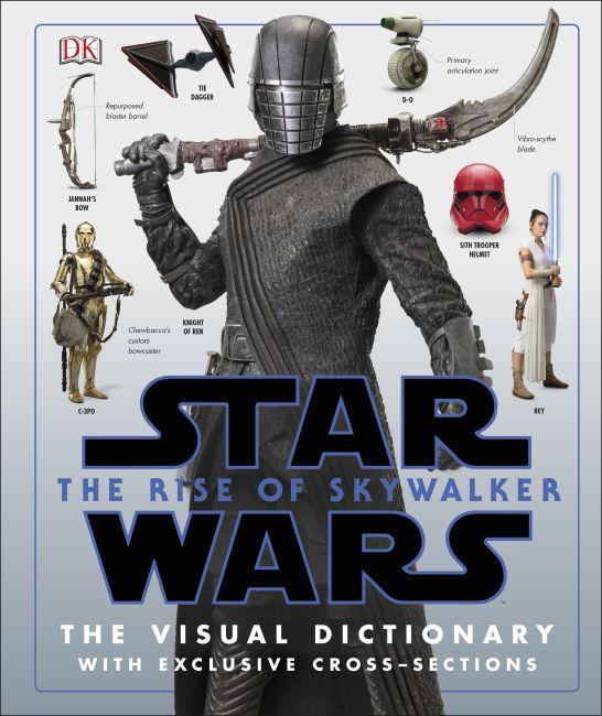 Hardback cover of Star Wars The Rise of Skywalker The Visual Dictionary