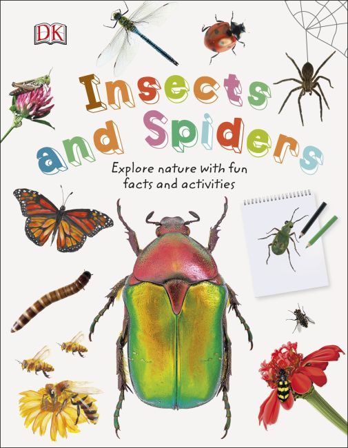 Hardback cover of Insects and Spiders