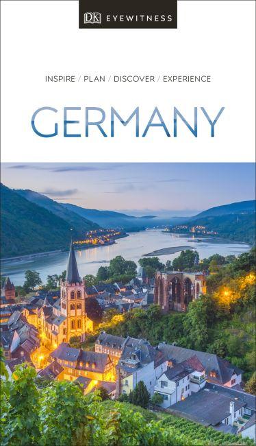 Paperback cover of DK Eyewitness Germany
