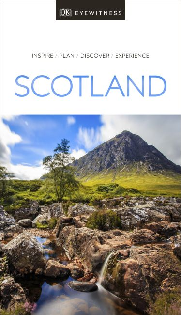 Paperback cover of DK Eyewitness Scotland