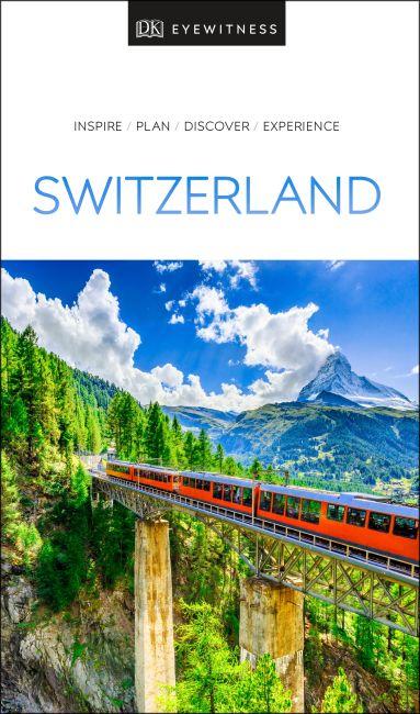 Paperback cover of DK Eyewitness Switzerland