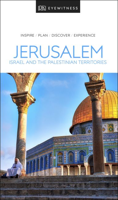 Paperback cover of DK Eyewitness Jerusalem, Israel and the Palestinian Territories