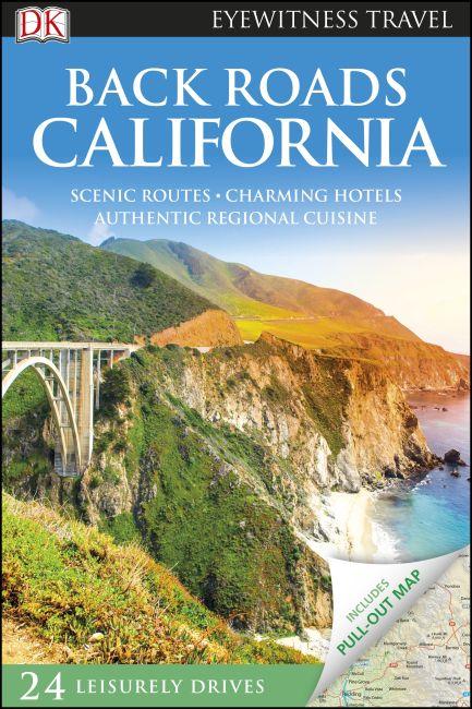 Flexibound cover of DK Eyewitness Back Roads California