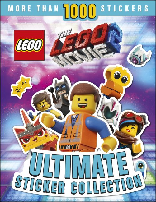 Paperback cover of THE LEGO® MOVIE 2™ Ultimate Sticker Collection