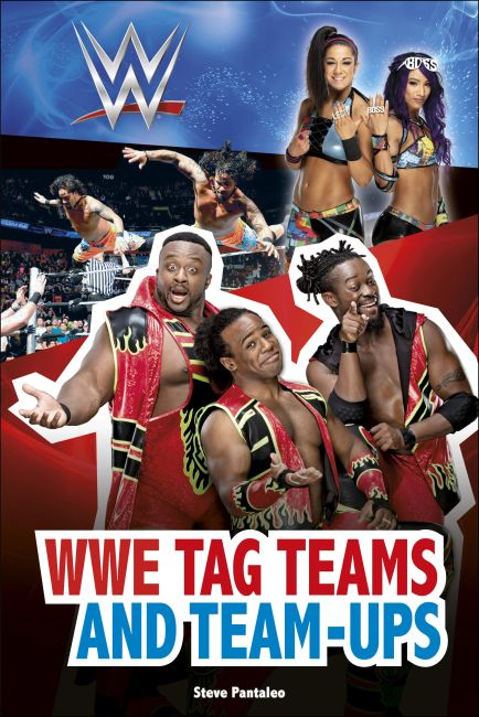 Hardback cover of WWE Tag Teams and Team-Ups