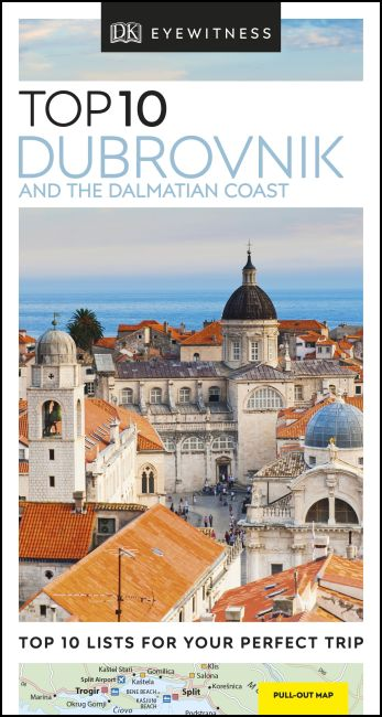 Paperback cover of DK Eyewitness Top 10 Dubrovnik and the Dalmatian Coast