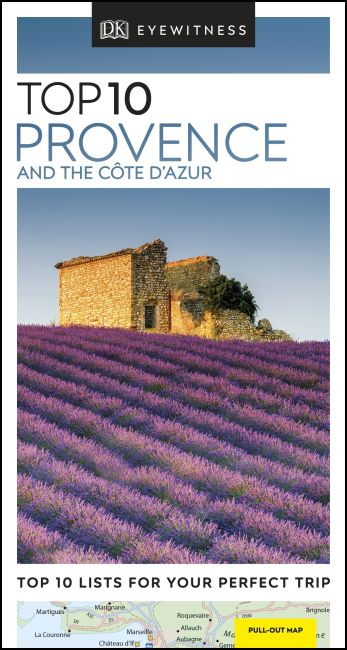Paperback cover of DK Eyewitness Top 10 Provence and the Côte d'Azur