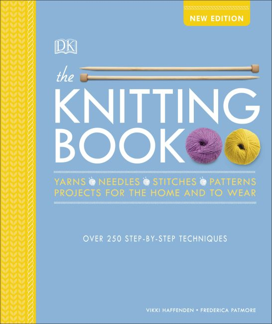 Hardback cover of The Knitting Book