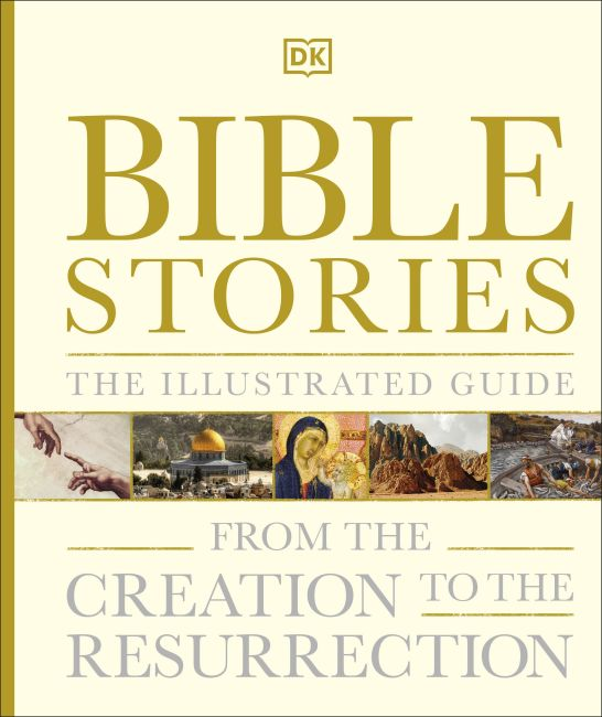 Hardback cover of Bible Stories The Illustrated Guide