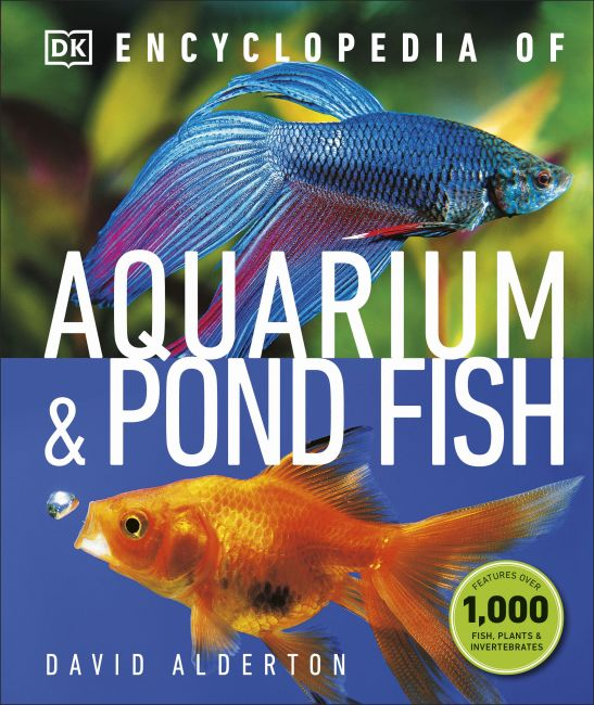 Hardback cover of Encyclopedia of Aquarium and Pond Fish