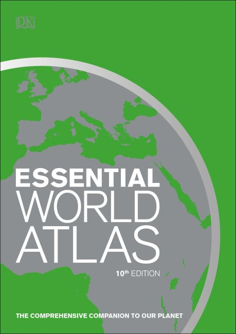 Flexibound cover of Essential World Atlas