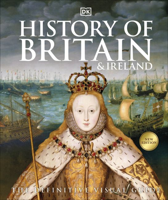 Hardback cover of History of Britain and Ireland