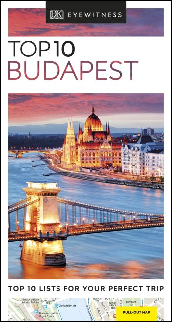 Paperback cover of DK Eyewitness Top 10 Budapest