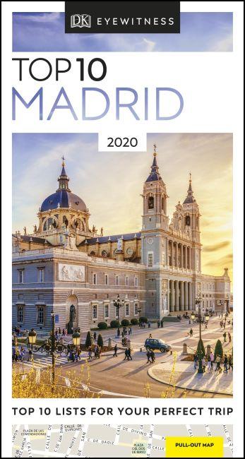 Paperback cover of DK Eyewitness Top 10 Madrid