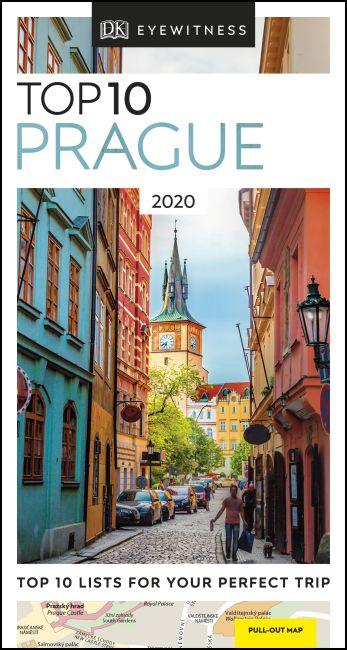 Paperback cover of DK Eyewitness Top 10 Prague