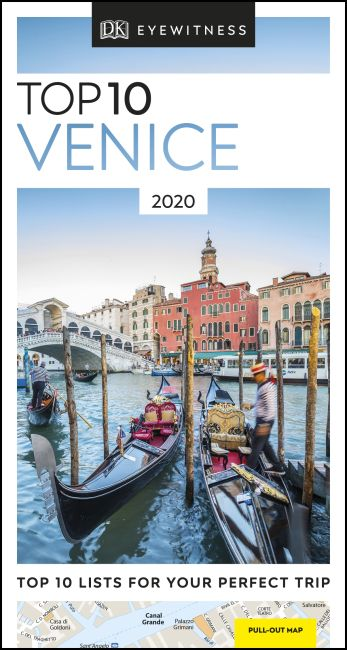 Paperback cover of DK Eyewitness Top 10 Venice