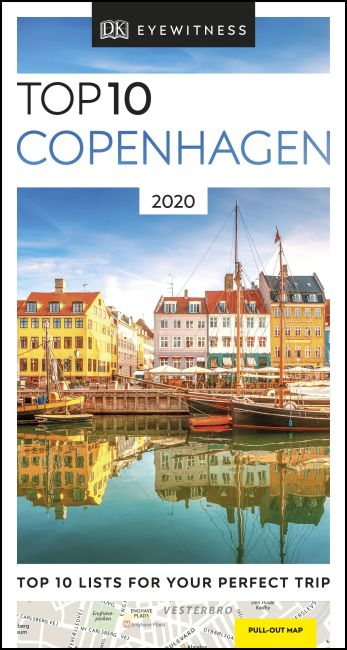 Paperback cover of DK Eyewitness Top 10 Copenhagen