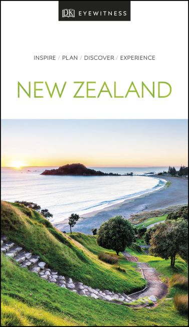 Paperback cover of DK Eyewitness New Zealand